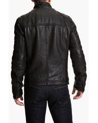 Ugg | Black Garrapata Leather Jacket for Men | Lyst