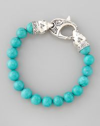 Stephen Webster | Blue Turquoise Beaded Bracelet for Men | Lyst