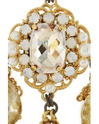 Erickson Beamon | Metallic Alyssa Earrings | Lyst