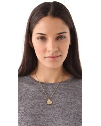 Alexis Bittar - Metallic Crystal Drop Necklace - Lyst