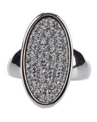 Dyrberg/Kern | Metallic Omega Ring | Lyst