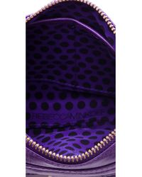 Rebecca Minkoff | Purple Mini Mac Bag | Lyst