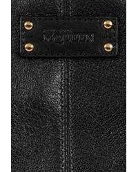 Alexander McQueen   Black De Manta Textured Leather Cosmetics Case   Lyst