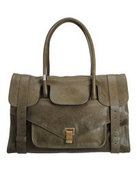 Proenza Schouler - Green Ps1 Keep All Small Leather - Lyst