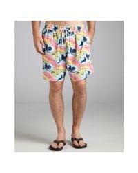 Vilebrequin - Multicolor Seal-print Moorea Swim Trunks for Men - Lyst