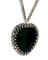 Paul Smith - Black Woven Marble Pendant - Lyst