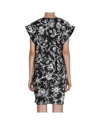 Balenciaga | Black Iris Tunic Dress | Lyst