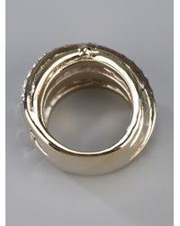 Dyrberg/Kern - Metallic Wendolyn Ring - Lyst