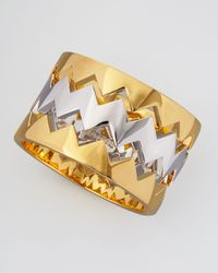 Eddie Borgo | Metallic Beartrap Bangle Set   | Lyst