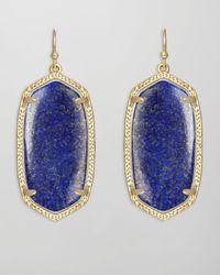 Kendra Scott | Blue Danielle Earrings Lapis | Lyst