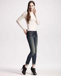 Rag & Bone - Blue The Skinny Wells Jeans - Lyst