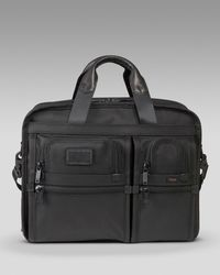 Tumi | Black Tpass Medium Laptop Brief for Men | Lyst