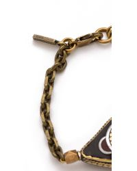 Vanessa Mooney - Brown Evil Eye Bracelet - Lyst