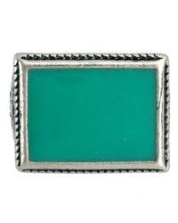 ASOS | Metallic Asos Coloured Stone Ring for Men | Lyst