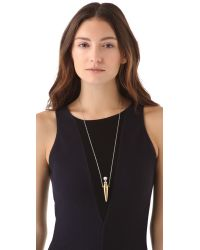 House of Harlow 1960 - Metallic Orb Vial Necklace - Lyst