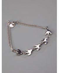 Marc By Marc Jacobs - Metallic Bird Bracelet - Lyst