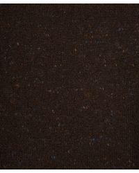 Eskandar - Dark Brown Tweed Poncho - Lyst