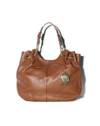 Vince Camuto | Brown Jack Drawstring Tote | Lyst