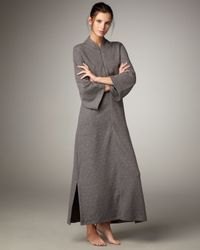 Natori - Gray Beijing Lux Quilted Caftan - Lyst