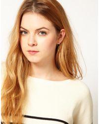 Cath Kidston | Metallic Robin Earrings | Lyst