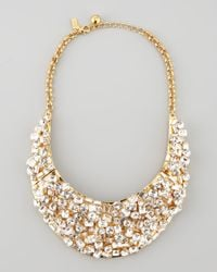 kate spade new york | Metallic Kaleidoball Crystalencrusted Necklace | Lyst
