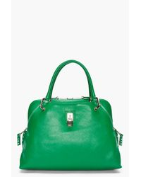 Marc Jacobs | Green Leather Studded Rio Tote Bag | Lyst