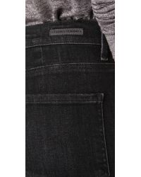 Citizens of Humanity - Black Rocket Velveteen High Rise Skinny Jeans - Lyst