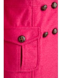 ModCloth | Saucy Saffron Coat in Pink | Lyst