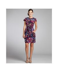 Nanette Lepore | Purple Sexy Dame Dress in Plum/fuchsia | Lyst