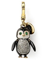 Juicy Couture - Metallic Penguin Charm - Lyst