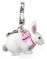 Juicy Couture - White Snow Bunny Charm - Lyst