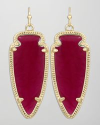 Kendra Scott - Pink Small Sky Arrow Earrings  - Lyst