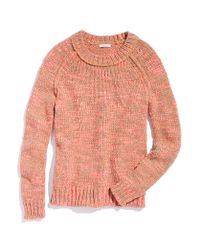 Madewell - Pink Flurry Sweater - Lyst