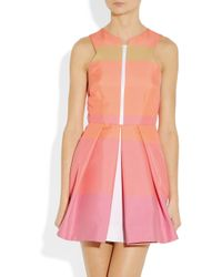 Camilla & Marc | Pink Striped Cottonblend Dress | Lyst