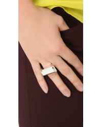 Gabriela Artigas - Metallic Pedestal Ring - Lyst