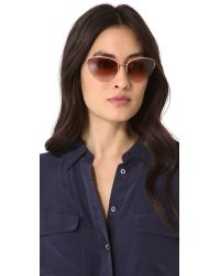 Oliver Peoples - Pink Kiley Sunglasses - Lyst