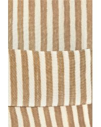 Forte Forte - Natural Striped Silk Tunic - Lyst