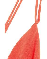 JOSEPH | Pink Basel Bias-cut Silk-crepe Gown | Lyst