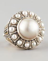 Konstantino | White Kassandra Mabe Pearl Ring | Lyst