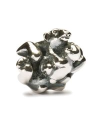 Trollbeads | Metallic Polar Bear Baby Charm | Lyst