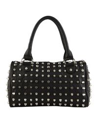 ALDO | Black Derise Satchel Bag | Lyst