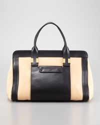 Chloé | Natural Alice Large Satchel Bag   | Lyst