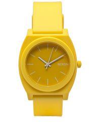 Nixon   Yellow Time Teller Watch for Men   Lyst