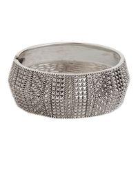 BaubleBar | Metallic Silver Odyssey Cuff | Lyst