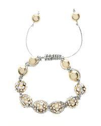 Coast - Metallic Fern Bracelet - Lyst