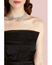 Coast - Gray Deco Collar Necklace - Lyst