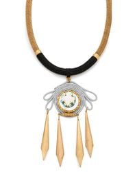 Holst + Lee | Metallic Bird Of Paradise Necklace | Lyst