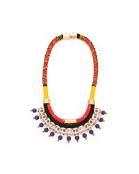 Holst + Lee | Red Dead Man's Bones Necklace | Lyst