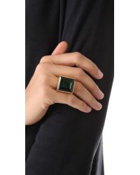 Michael Kors | Green Cocktail Ring | Lyst