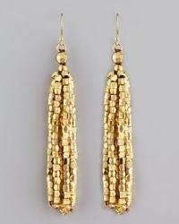 Nakamol | Metallic Faceted Fringe Earrings | Lyst